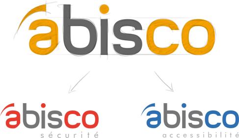Conception du logo Abisco