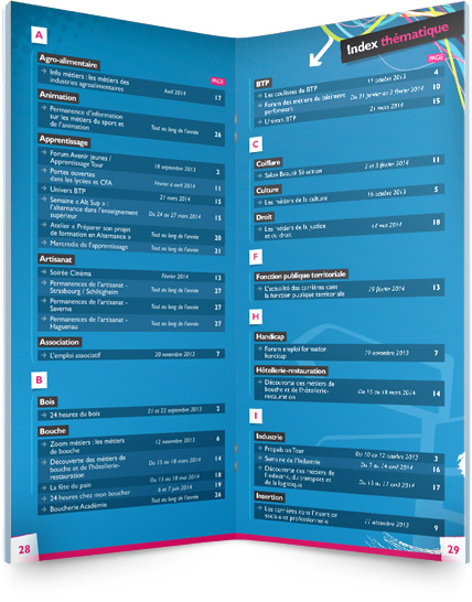 Agenda de l'Orientation 2013 - version 67