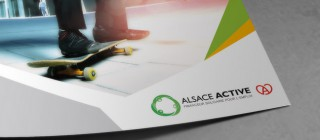 Création print Alsace Active