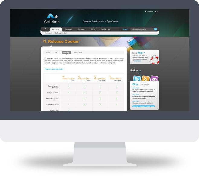 Page produit Antelink