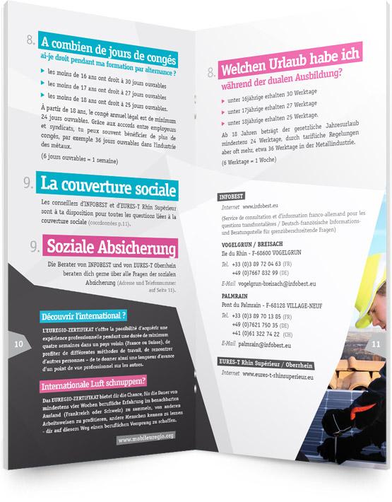 Pages intérieures brochure Apprentissage Transfrontalier