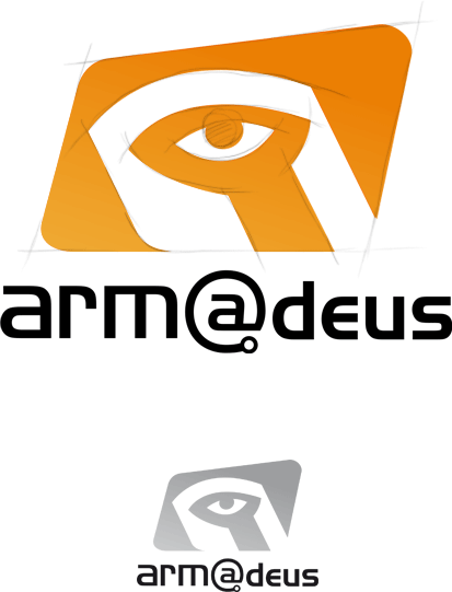 Conception du logotype d'Armadeus