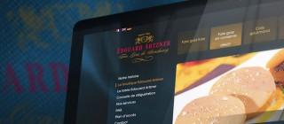 Webdesign boutique en ligne Artzner