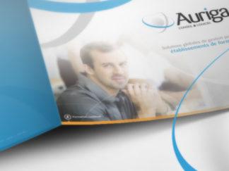 Création web et print pour Auriga