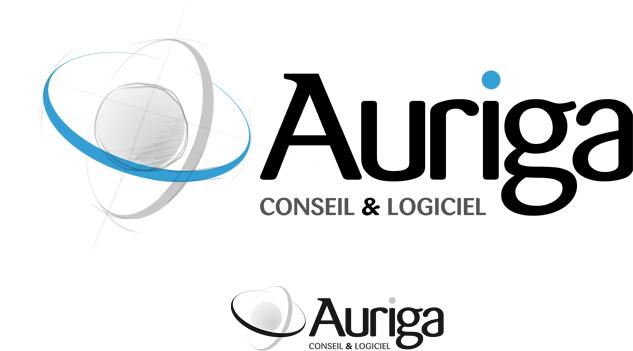 Création du logotype Auriga