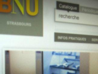 Webdesign BNU Strasbourg