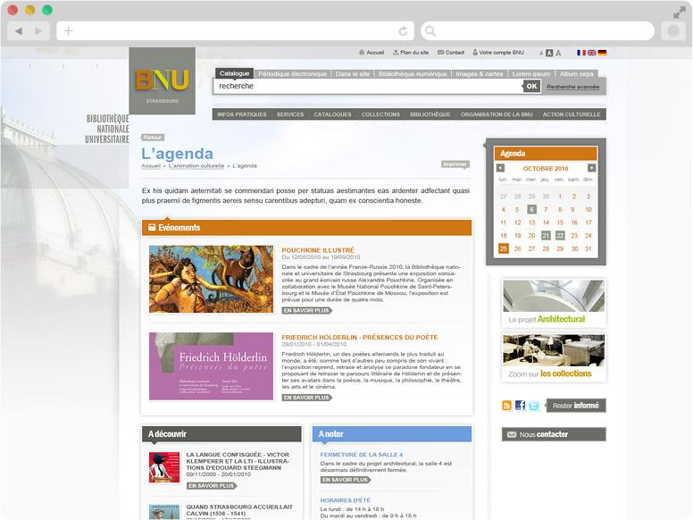 Page Agenda BNU Strasbourg