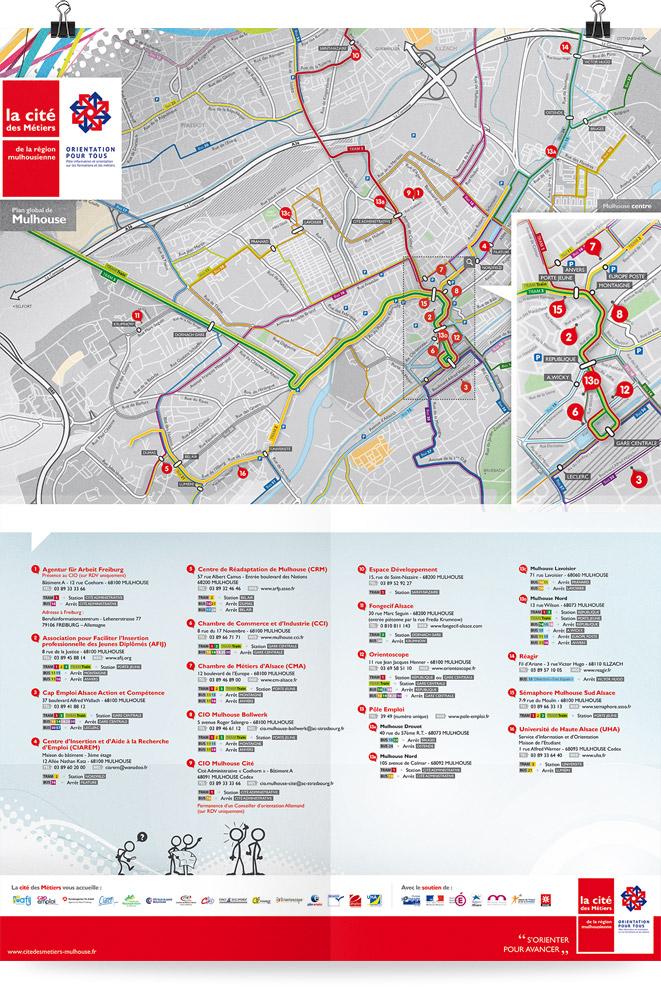 Affiche Carto Cité des Métiers
