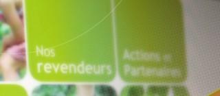 Conception webdesign site Ecofibres