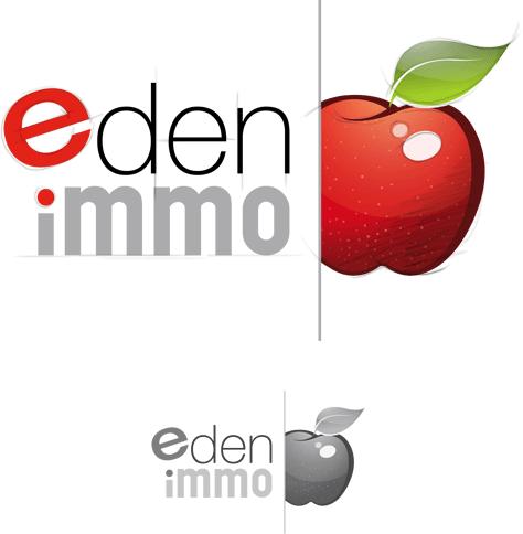 Logotype Eden Immo