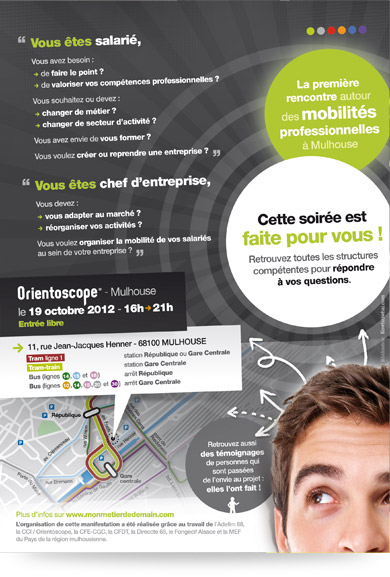 Verso flyer Forum Mobilité Pro