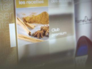 Création webdesign site Homechef