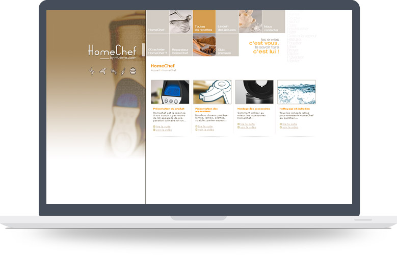 Page Internet site Homechef