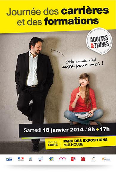Recto flyer Journée des Carrières