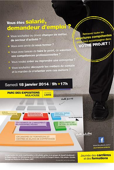 Verso flyer Journée des Carrières