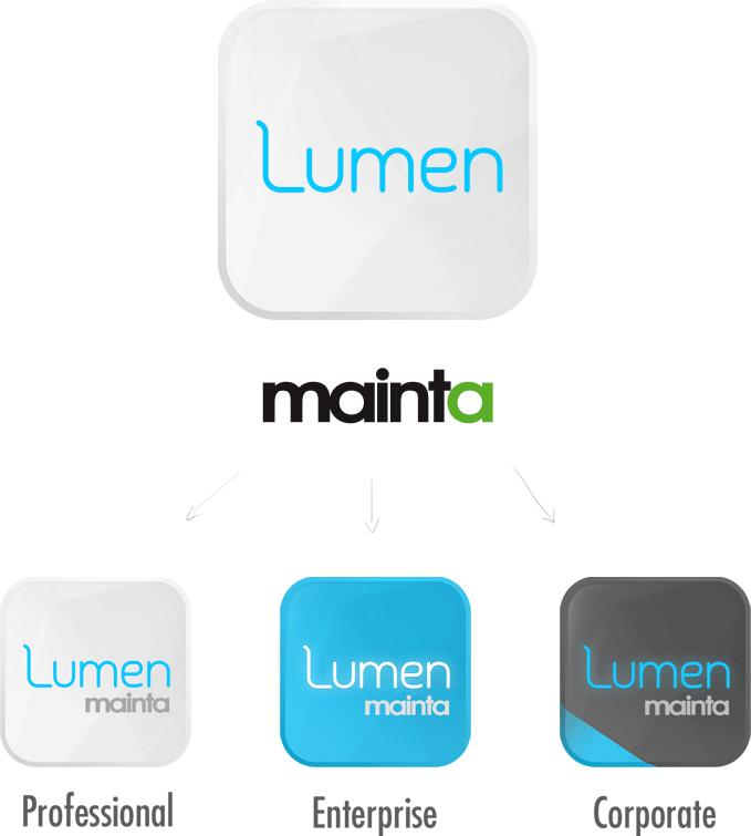 Création du logo Mainta Lumen et ses éditions