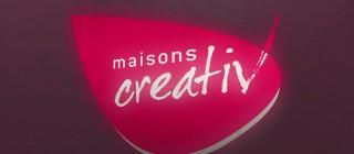 Création du logotype Maison Creativ