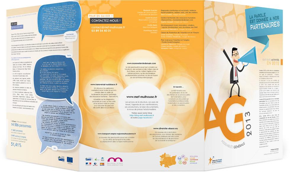 Recto plaquette AG 2013 MEF Mulhouse