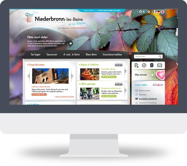 Page d'accueil site OT Niederbronn