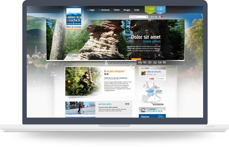 Page d'accueil site OT Haute-Bruche