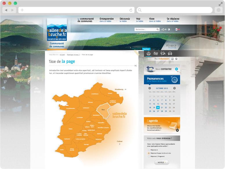 Page cartographie site CC Haute-Bruche