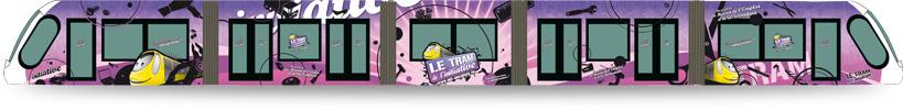 Création graphique tram - Vue d'ensemble