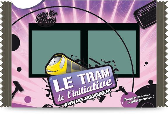 Création graphique tram - Partie centrale