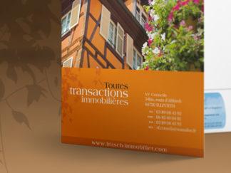 Identité visuelle pour Fritsch Immobilier