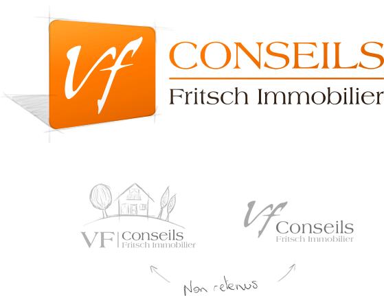 Création du logotype VF Conseils