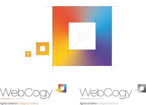 Création du logo Webcogy