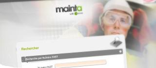 Nouveau bureau d'accueil personnalisé pour Mainta - Apave