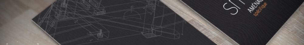Création logo / cartes de visite SMG Aménagement