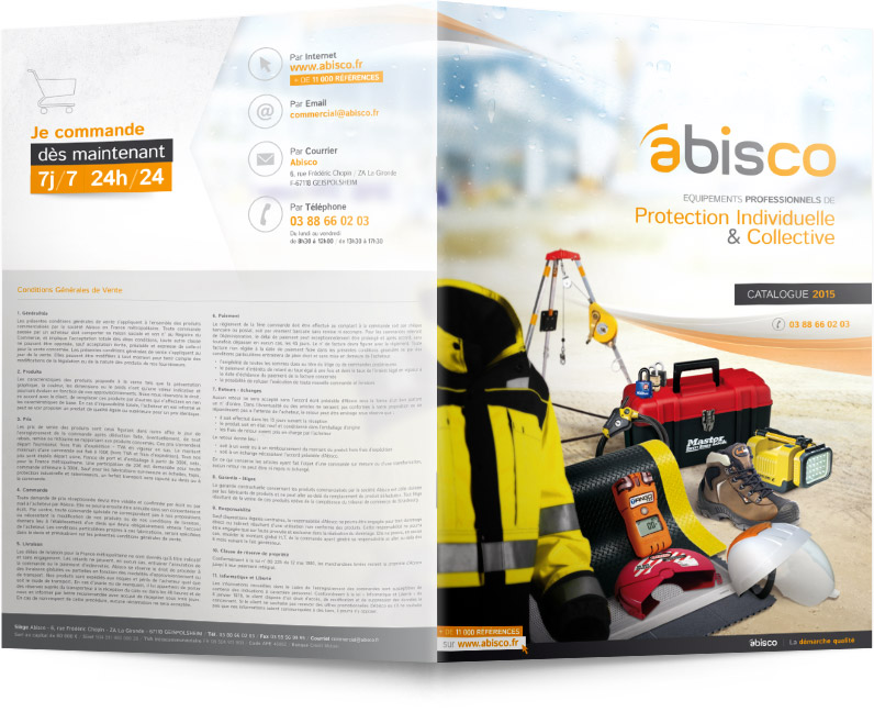 Extérieur du catalogue Abisco 2015