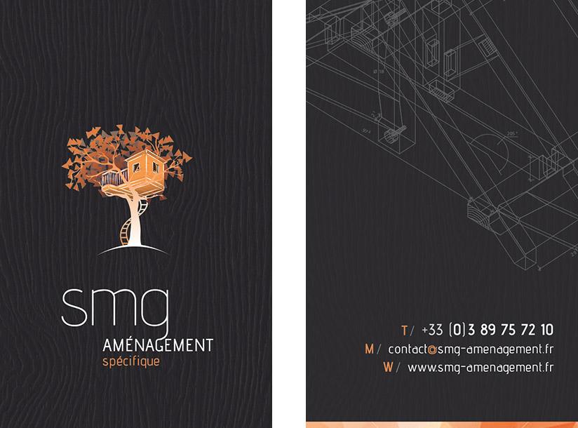 Création de logo SMG Aménagement